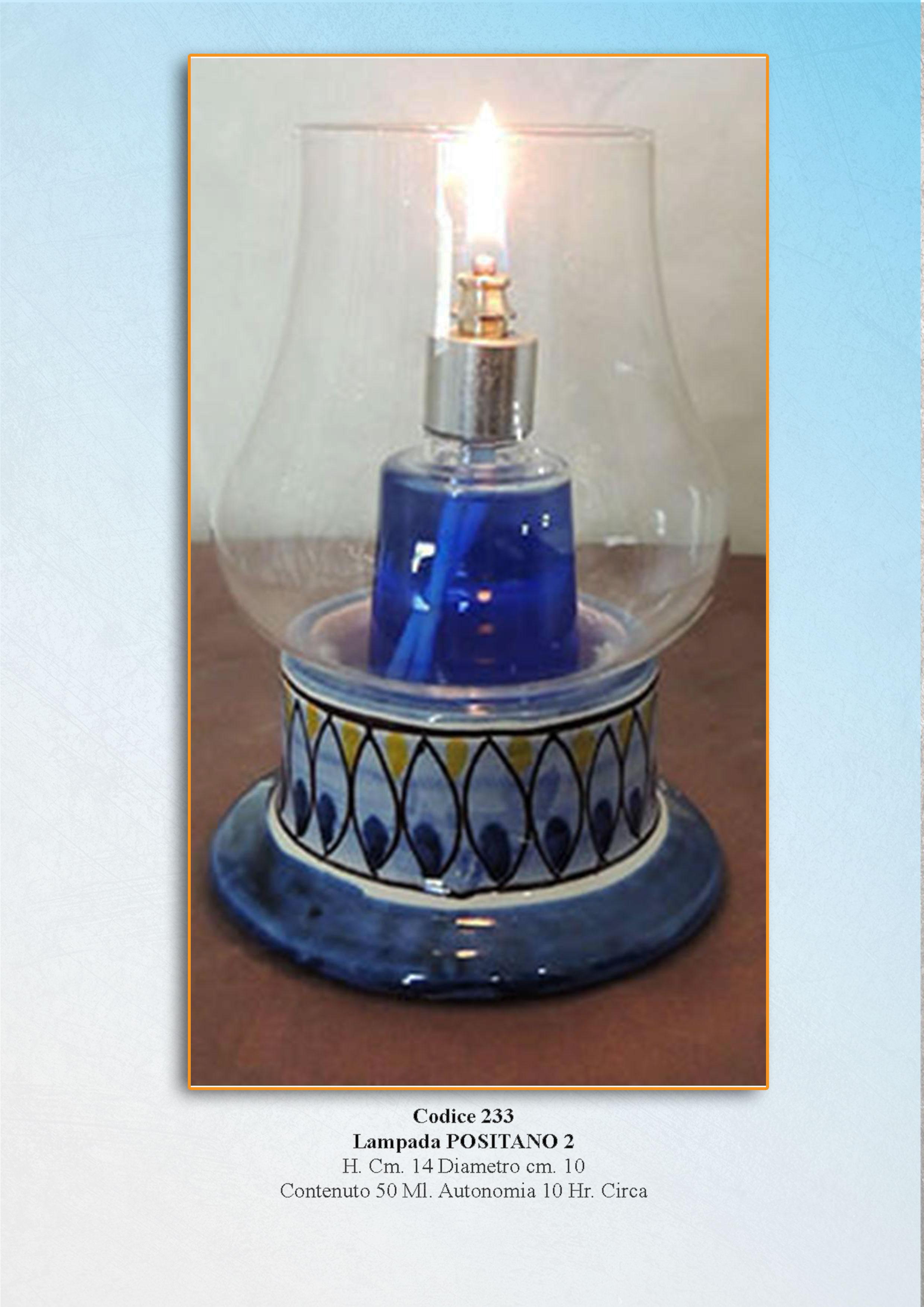 Ceramica vietrese napolamp for Lampade arredo
