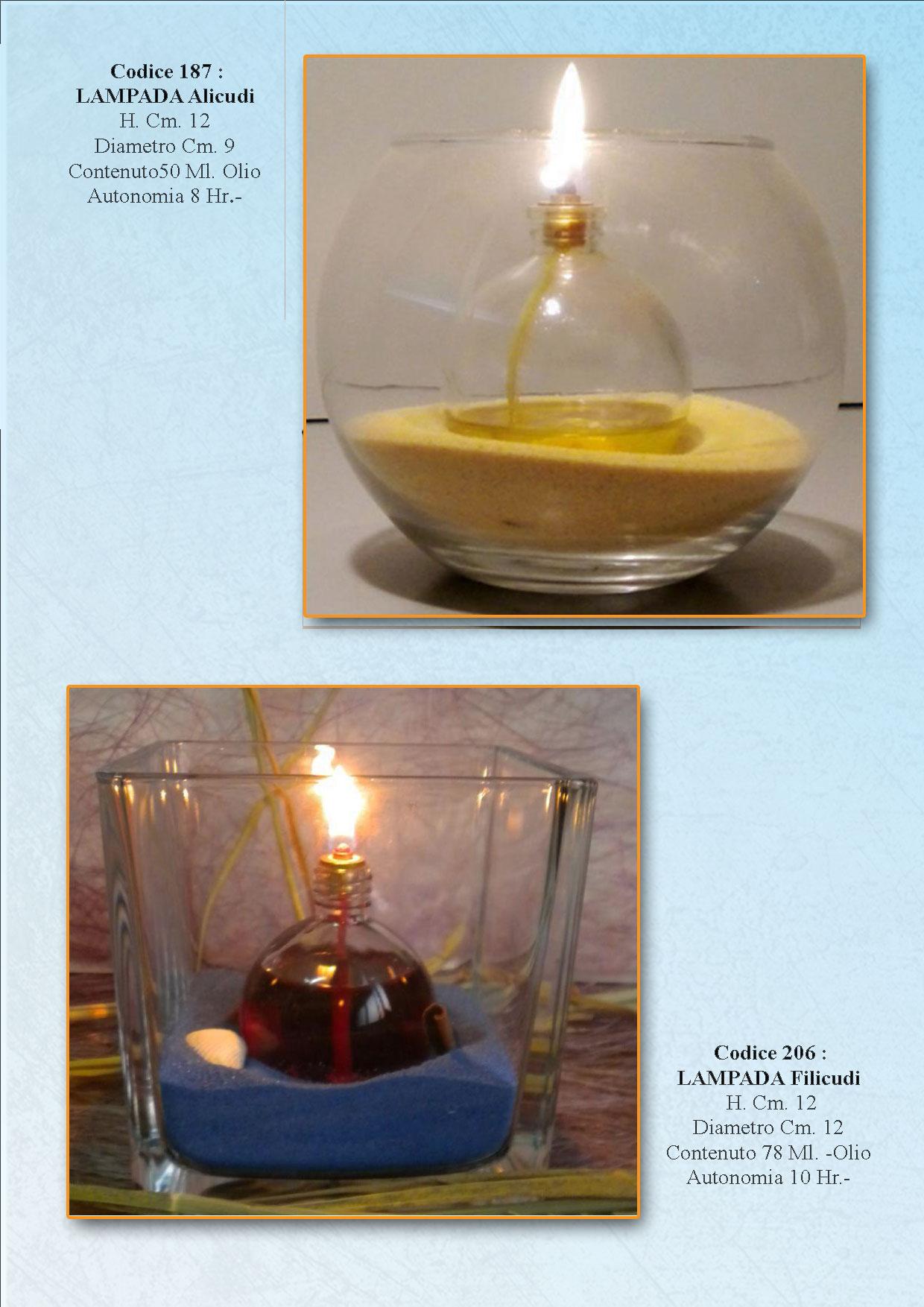 Vetro napolamp for Lampade arredo